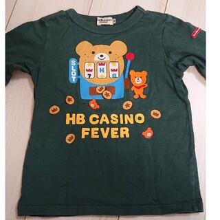 ホットビスケッツ(HOT BISCUITS)のミキハウス ホットビスケッツ 長袖Tシャツ 100(Tシャツ/カットソー)