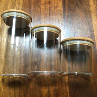 ニトリ(ニトリ)のNitori 木ふたガラスキャニスター(容器)