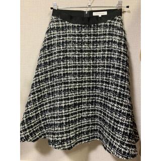M-premier - m-premier ツイードスカート