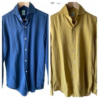 フィナモレ(FINAMORE)の7はやぶさ7様専用/フィナモレフランネルシャツ2種(シャツ)