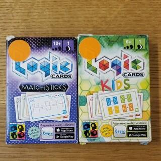 ロジックカード Logic Cards Green & Purple 2個セット(トランプ/UNO)