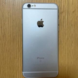 アップル(Apple)のiPhone 6s シルバー 16GB(スマートフォン本体)