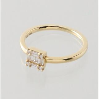 agete - ベルシオラ k18 ダイヤリング
