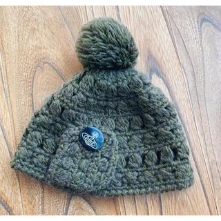 ヴィヴィアンウエストウッド(Vivienne Westwood)のVivienneWestwood⭐︎ヴィヴィアンポンポンニット帽(ニット帽/ビーニー)