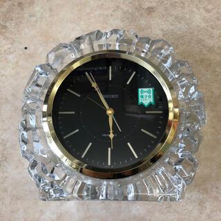 セイコー(SEIKO)の置き時計 クリスタル SEIKO セイコー(置時計)