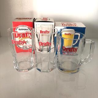 トウヨウササキガラス(東洋佐々木ガラス)のサッポロ ドラフティー グラス&ミニジョッキセット(グラス/カップ)