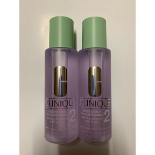 クリニーク(CLINIQUE)のクリニーク拭き取り化粧水 CLINIQUE クラリファイング ローション2(化粧水/ローション)