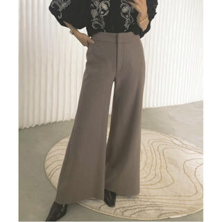 Ameri VINTAGE - Ameri♡ SMOOTH FLARED PANTS