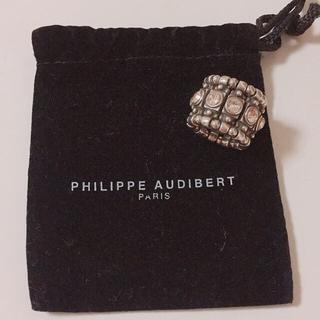 フィリップオーディベール(Philippe Audibert)のPHILIPPE AUDIBERT リング ピンクスワロフスキー(リング(指輪))