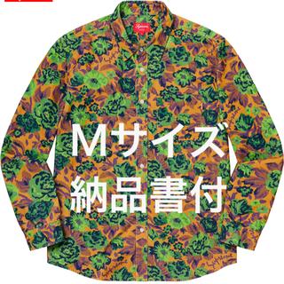 Supreme - 【Mサイズ】Supreme Digi Floral Corduroy Shirt