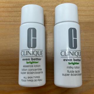 クリニーク(CLINIQUE)のCLINIQUE イーブンベター化粧水、乳液セット(化粧水/ローション)