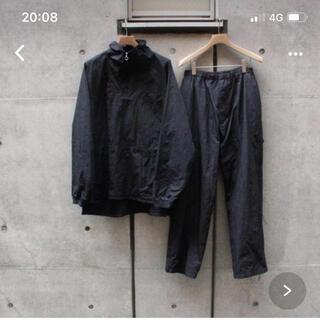 COMOLI - コモリ  19aw 製品染ナイロントラックパンツとナイロンアノラック