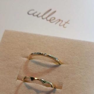 cullent(カレン) K18ピンキーリング 2本セット(リング(指輪))
