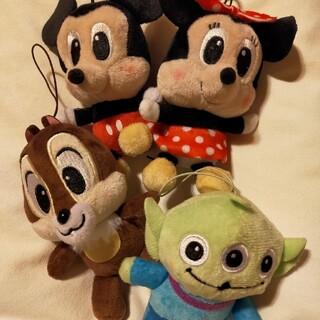 ディズニー(Disney)のミッキー・ミニー・チップ・リトルグリーンメン(キャラクターグッズ)
