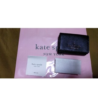 kate spade new york - ケイトスペードミニ財布新品未使用レシート袋付正規品アウトレット