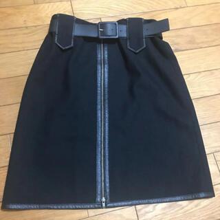 ビッキー(VICKY)のビッキー VICKY タイトスカート ベルト付き(ひざ丈スカート)