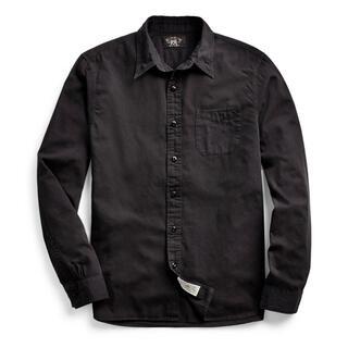 RRL - 新品 RRL ガーメントダイド ツイル ワークシャツ