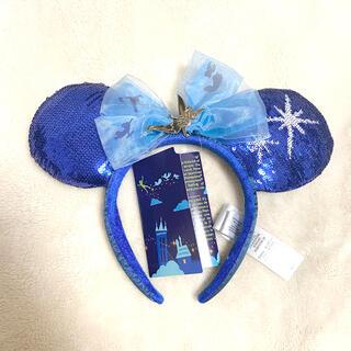 ディズニー(Disney)のディズニーランド アメリカ ピーターパン 6月 カチューシャ 新品(キャラクターグッズ)