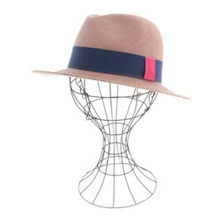 La cerise sur le chapeau ストローハット レディース(麦わら帽子/ストローハット)