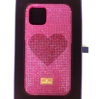 スワロフスキー(SWAROVSKI)の【新品】スワロフスキー iPhone 11 Pro iPhoneケース(iPhoneケース)