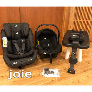 Joie (ベビー用品) - 美品 joie チャイルドシート isofix stages ベビーシート