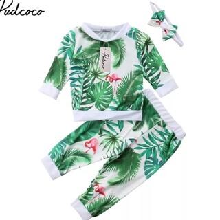 H&M - フラミンゴ 春物 セットアップ❣️80❣️90❣️ベビー服❣️上下セット