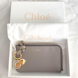 Chloe - 【新品】Chloe カードケース グレー