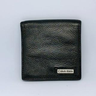 カルバンクライン(Calvin Klein)のカルバンクライン 小銭入れ レザー ブラック(コインケース/小銭入れ)