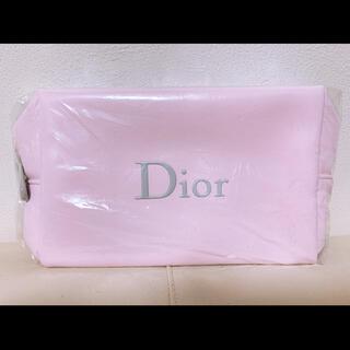 Dior - Dior ディオールポーチ ノベルティ ピンク×グレー 限定♡