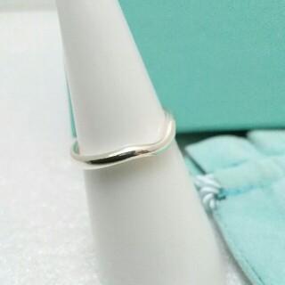 ティファニー(Tiffany & Co.)のティファニーカーブドバンドリング シルバー925(リング(指輪))