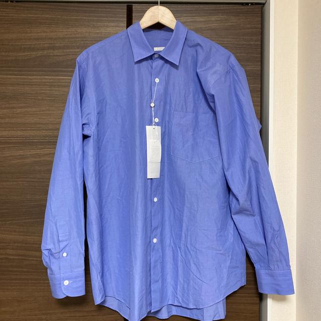 COMOLI(コモリ)のcomoliシャツ 21ss size2 sax メンズのトップス(シャツ)の商品写真