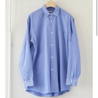 COMOLI - comoliシャツ 21ss size2 sax