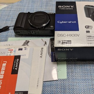 ソニー(SONY)のSONY Cyber−Shot HX DSC-HX30V(箱付き)(コンパクトデジタルカメラ)