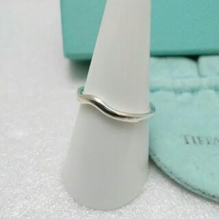 ティファニー(Tiffany & Co.)のティファニーカーブドバンドリング シルバー925 メンズ レデイース(リング(指輪))