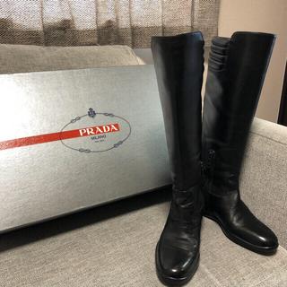プラダ(PRADA)のプラダ ロングブーツ(ブーツ)