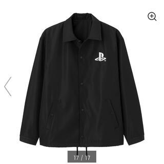 プレイステーション(PlayStation)の美品 GU PlayStation コラボ コーチ ジャケット(ナイロンジャケット)