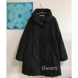 Theory luxe - 美品*theory luxe ロングダウンコート