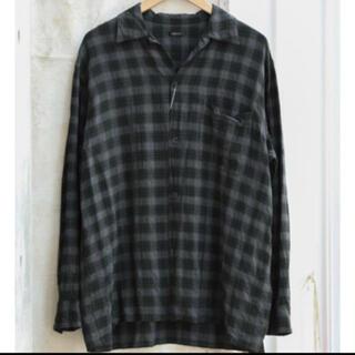 COMOLI - Comoli レーヨン オープンカラーシャツ 2 新品