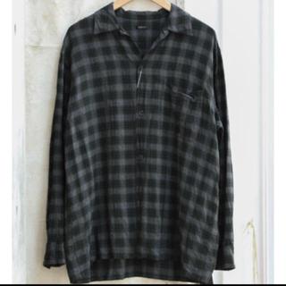 コモリ(COMOLI)のComoli レーヨン オープンカラーシャツ 2 新品(シャツ)