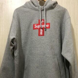 シュプリーム(Supreme)のSupreme Cross Box Logo クロスボックスロゴ パーカー(パーカー)