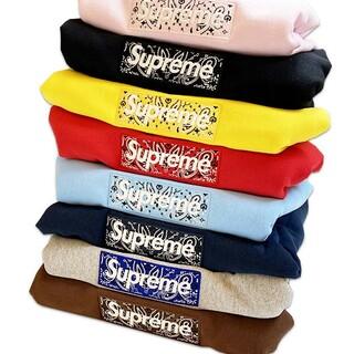 シュプリーム(Supreme)のSupreme Bandana Box Logo ボックスロゴ パーカー(パーカー)