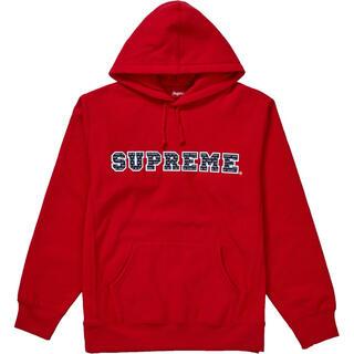 シュプリーム(Supreme)のSupreme The Most Hooded Sweatshirt Red(パーカー)
