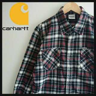 carhartt - 949 人気 Carhartt チェックシャツ しっかり生地