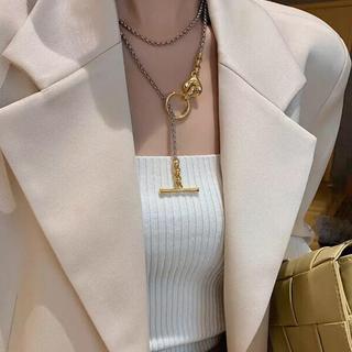 Ameri VINTAGE - mix color long chain necklace
