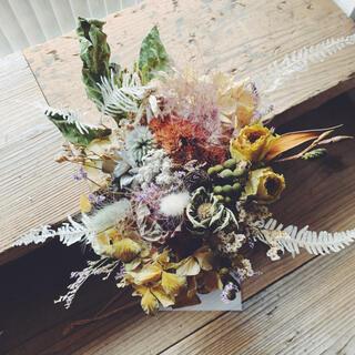 shabby chic dried flowers 5 くすみマカロンカラー(ドライフラワー)