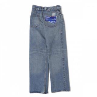 Jieda - dairiku wash n wear damage denim pants