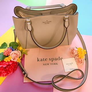kate spade new york - 新品♡kate spade ケイトスペード グレー ハンドバック 2ウェイ