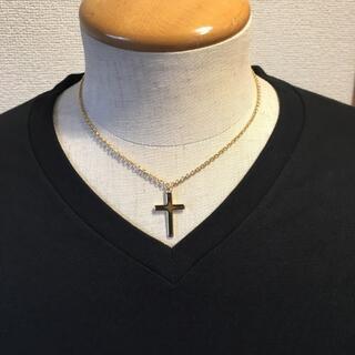 メンズ ネックレス クロスネックレス 40cm ゴールド HARE NIKE(ネックレス)