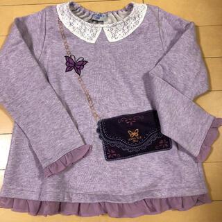 アナスイミニ(ANNA SUI mini)の新品未使用 ANNA SUI mini トップス130(Tシャツ/カットソー)