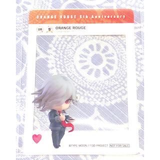 グッドスマイルカンパニー(GOOD SMILE COMPANY)のオランジュ・ルージュ 5週年展購入特典SNS風クリアカード『FGO』(キャラクターグッズ)